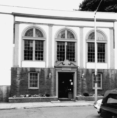 Temple B'nai Abraham Beverly MA 1911