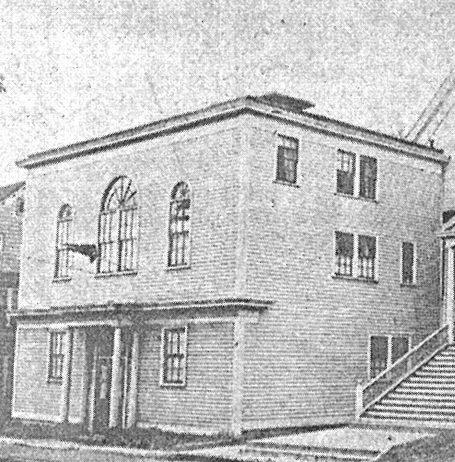 Temple B'nai Abraham Beverly MA 1930