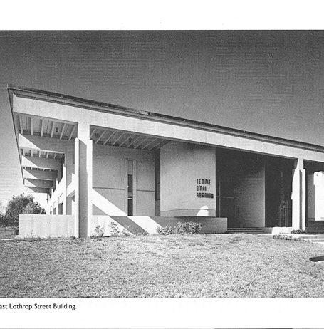 Dedication of new Temple 1962 Temple B'nai Abraham Beverly MA