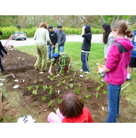 Pe'ah Garden established 2012 Temple B'nai Abraham Beverly MA