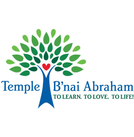 Temple B'nai Abraham new logo, 2017