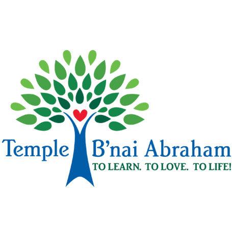 Temple B'nai Abraham new logo, 2017
