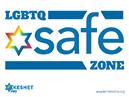 LGBTQ safe zone logo